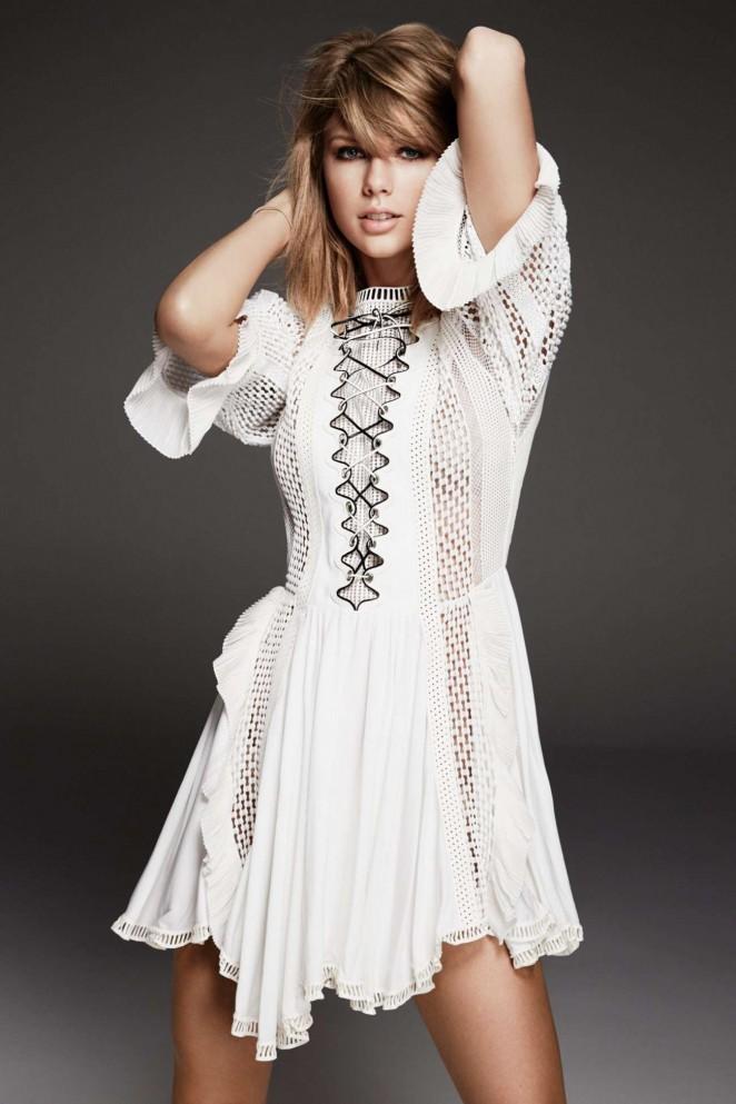 Taylor Swift - Glamour UK Magazine (June 2015)