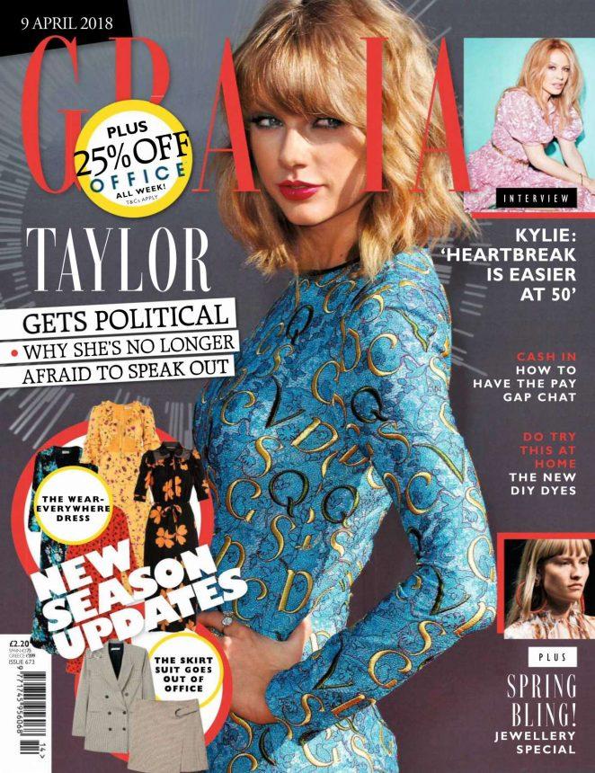 Taylor Swift - Grazia Magazine (April 2018)