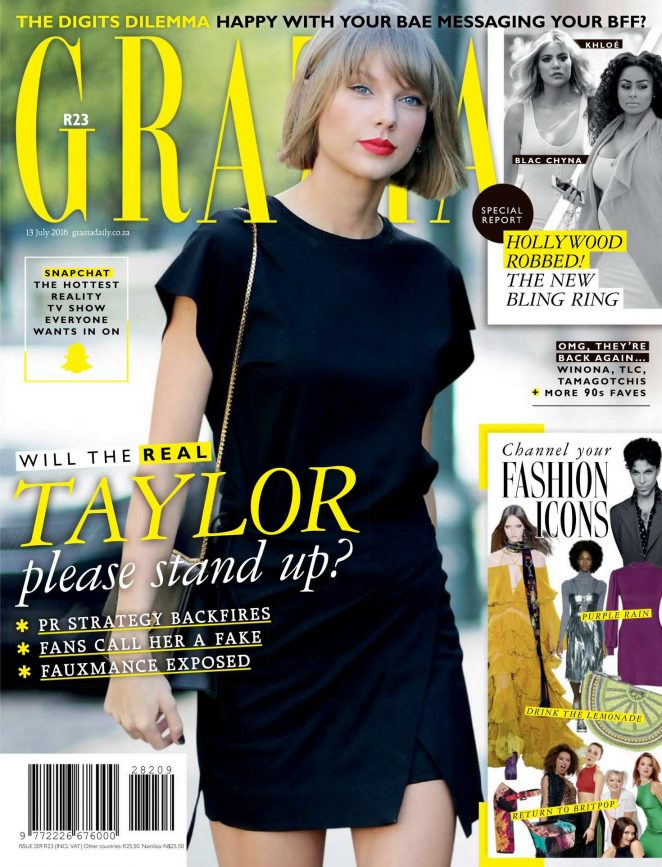 Taylor Swift - Grazia South Africa (July 2016)