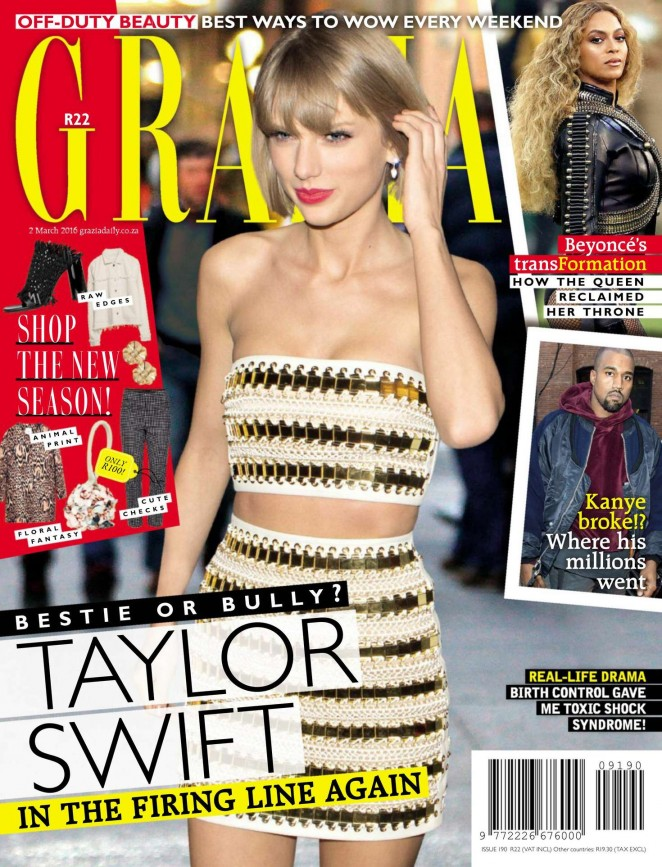 Taylor Swift – Grazia South Africa (March 2016)