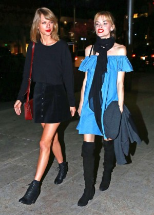 Taylor Swift & Jaime King Night Out in Beverly Hills
