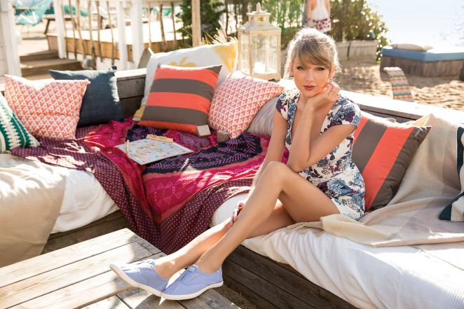 Keds Shoes Taylor Swift White