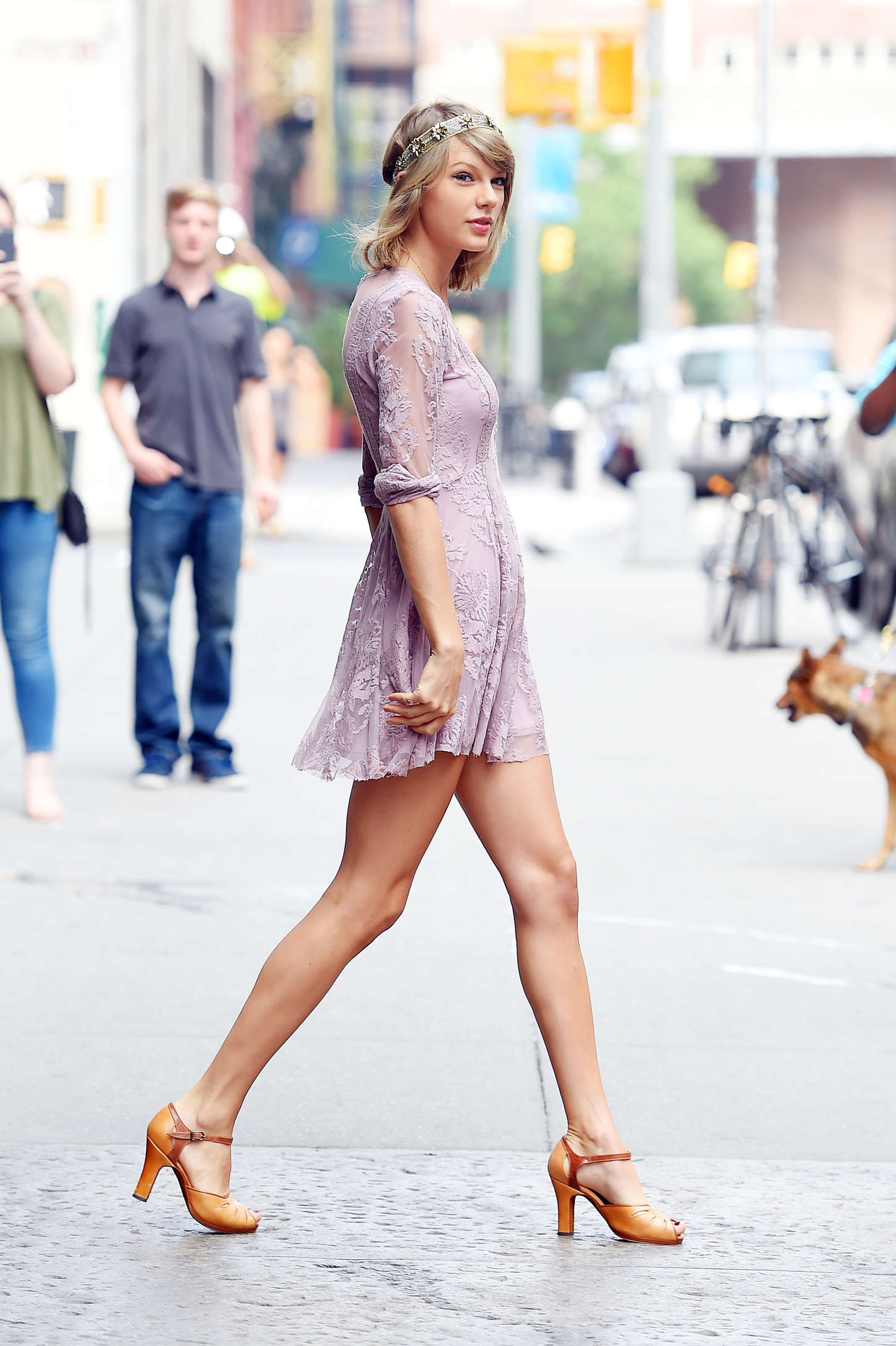 Taylor Swift in Mini Dress -18 - GotCeleb