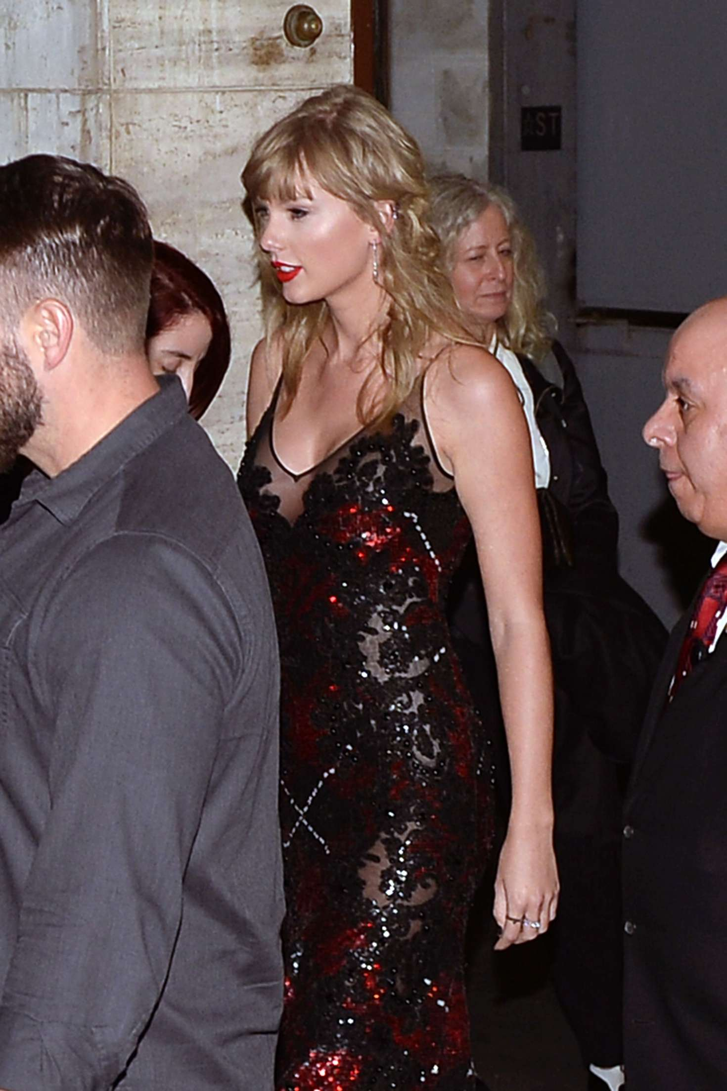 Taylor Swift Leaving Lincoln Center In New York City