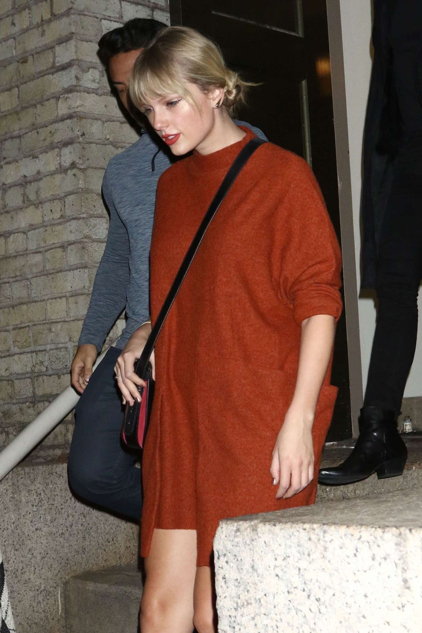 Taylor Swift - Leaving Madonna's 'Madame X Tour' in Brooklyn
