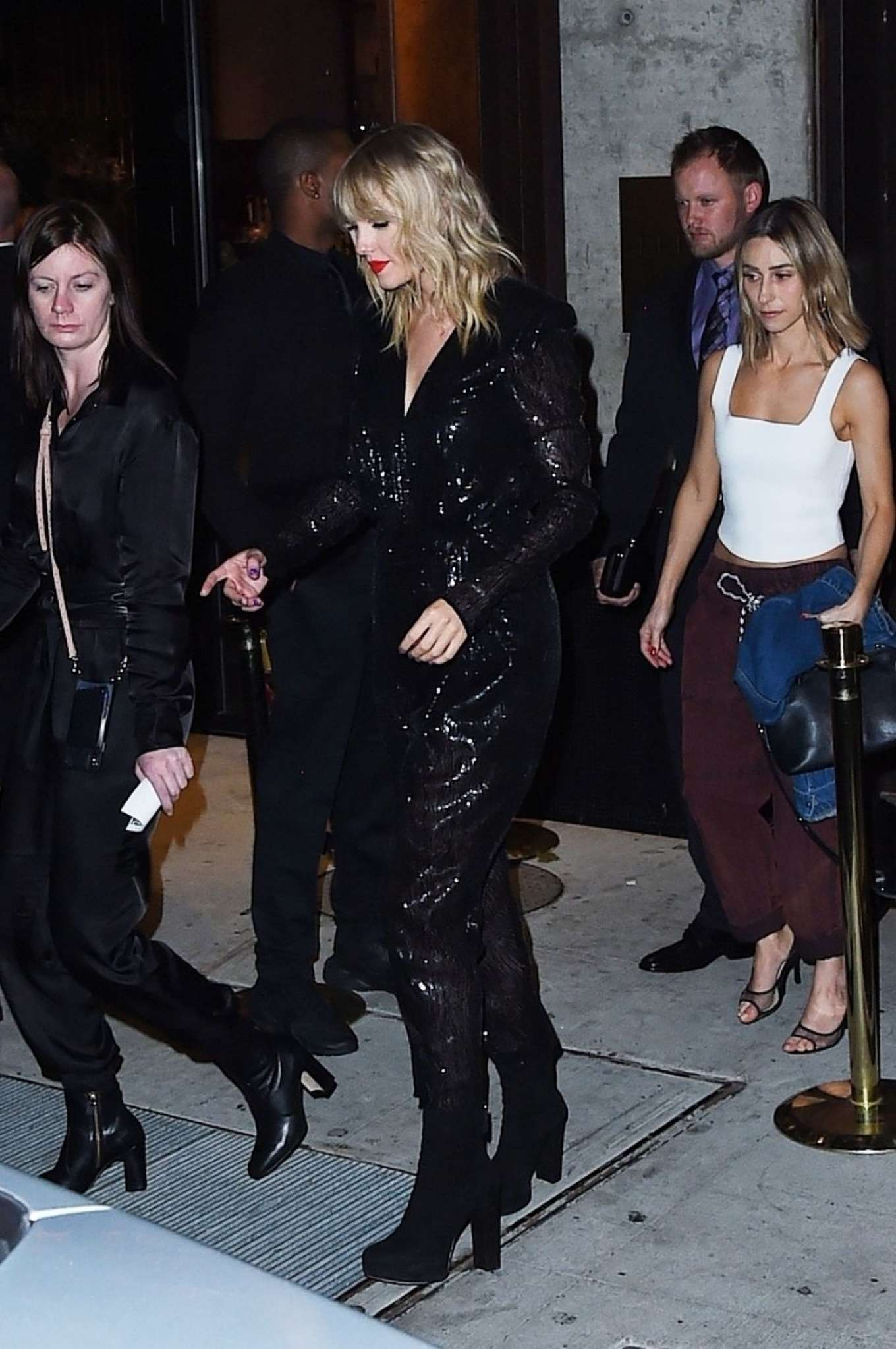 Taylor Swift - Leaving the 2019 MTV VMA After Party in New York