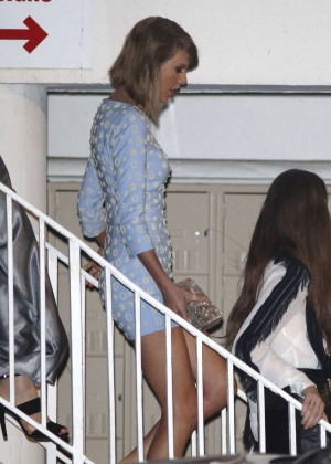 Taylor Swift - Leaving The Beverly Hilton Hotel in Beverly Hills