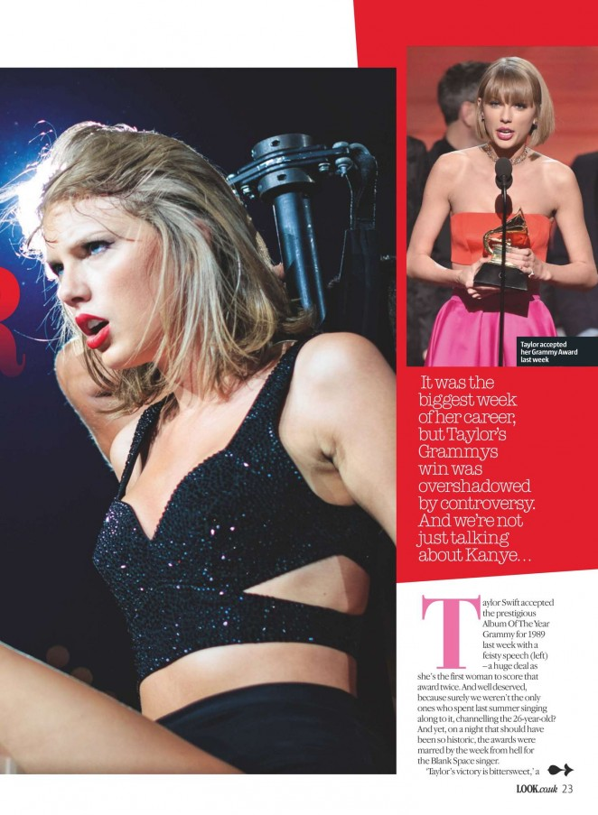 Taylor Swift - Look UK Magazine (February 2016)