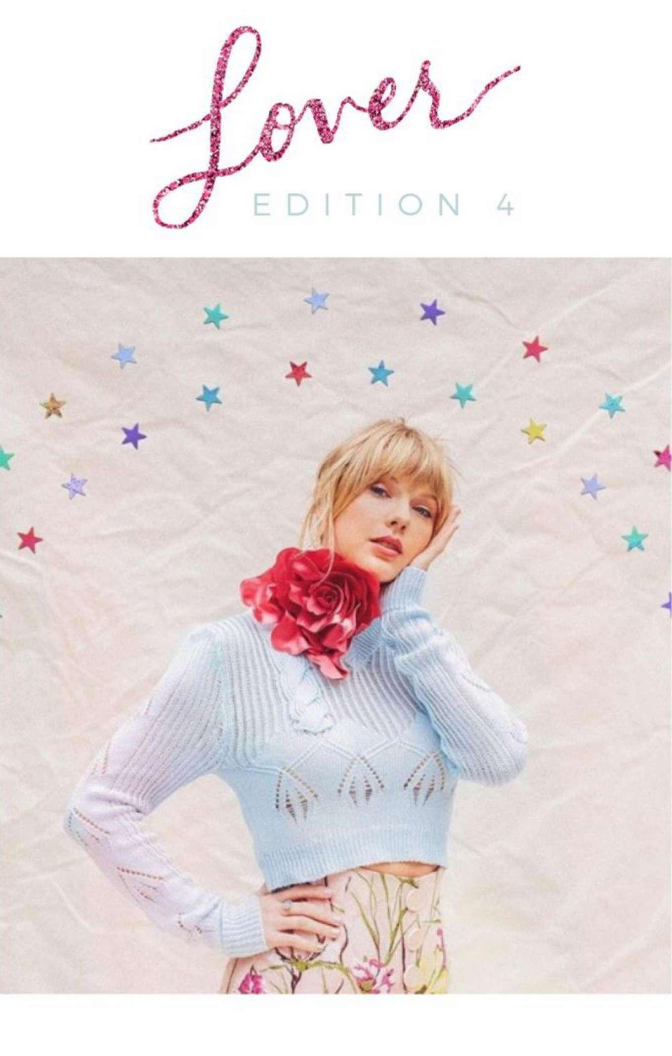 Taylor Swift - Lover Deluxe Album Journals 2019