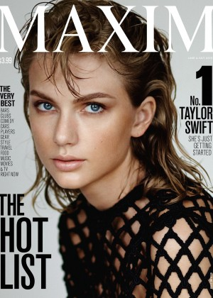 Taylor Swift - Maxim US Cover (June/july 2015)
