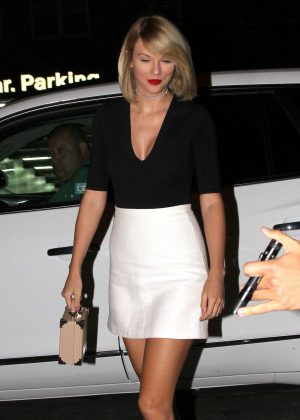 Taylor Swift night out in New York City