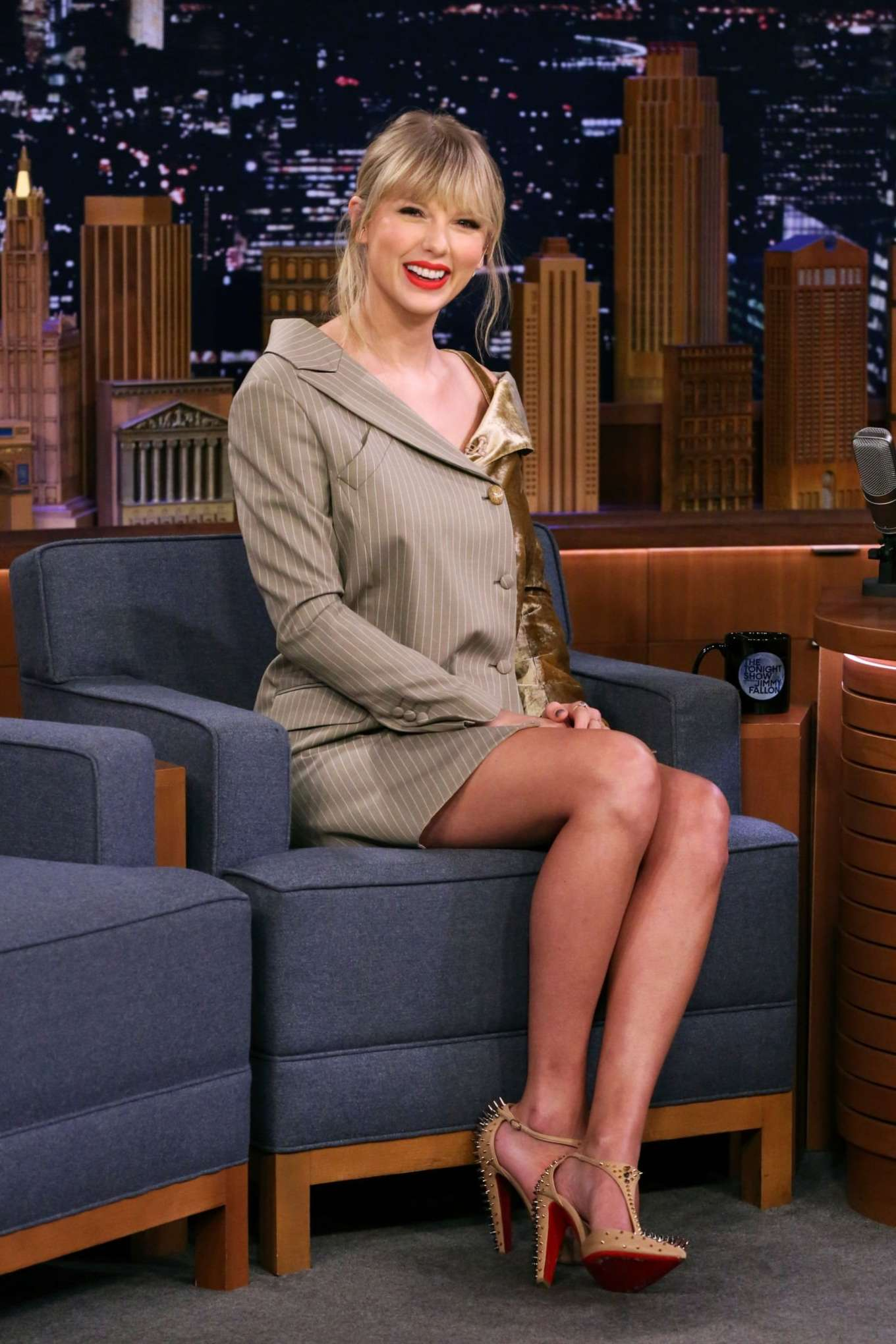 Taylor Swift - On 'The Tonight Show Starring Jimmy Fallon' in NYC