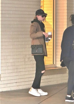 Taylor Swift out for coffee in Beverly Hills