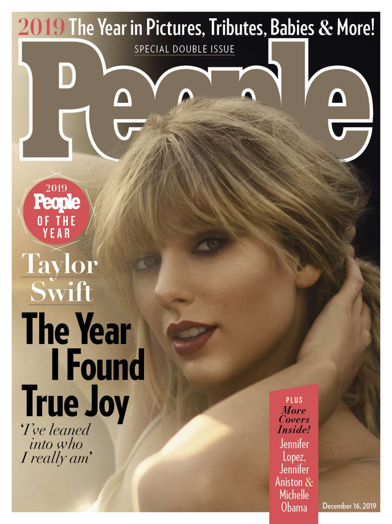 Taylor Swift 2019 : Taylor Swift – PEOPLE Magazine – People Of The Year 2019-01