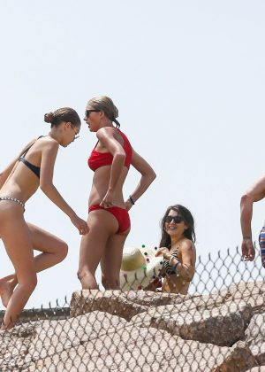 Taylor Swift in Red Bikini 2016 -03