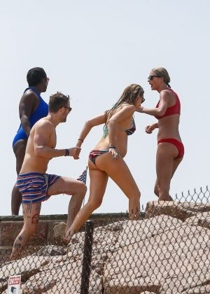 Taylor Swift in Red Bikini 2016 -26
