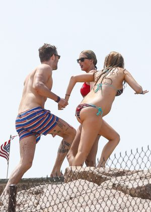 Taylor Swift in Red Bikini 2016 -35