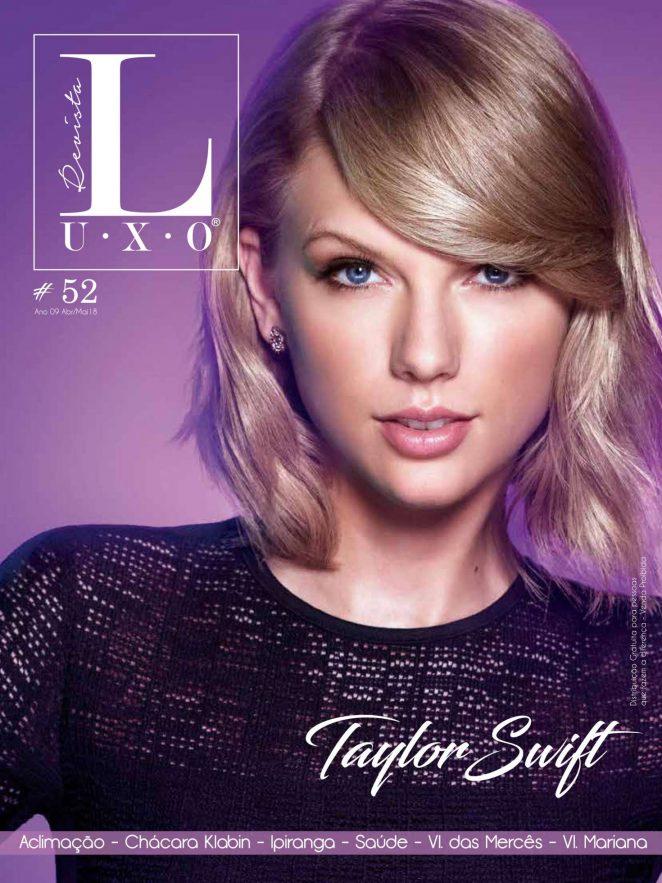 Taylor Swift - Revista Luxo Magazine (April/May 2018)