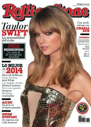 Taylor Swift - Rolling Stone Mexico Magazine (January 2015)
