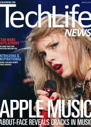 Taylor Swift - TechLife News Magazine (June 2015)