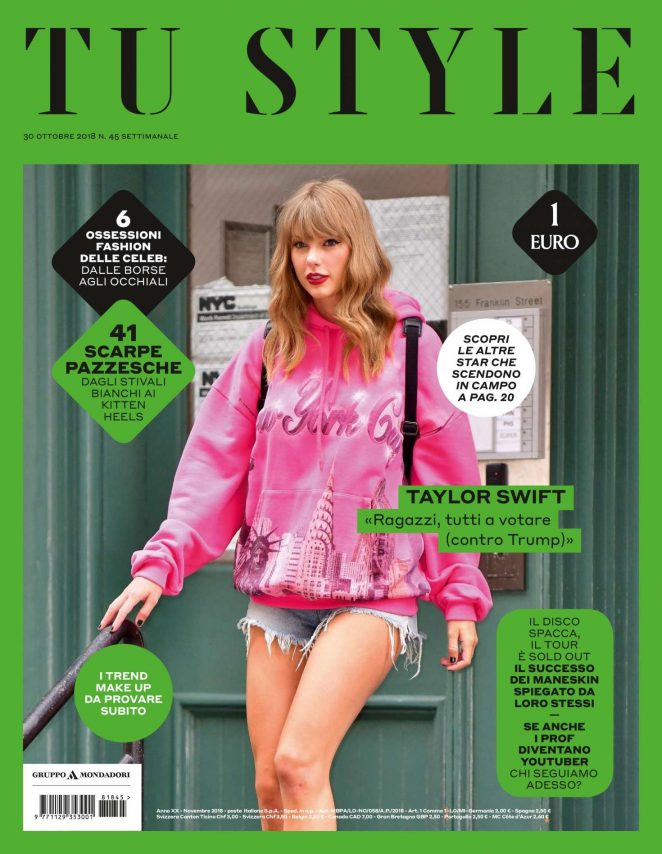 Taylor Swift - Tu Style Magazine (October 2018)