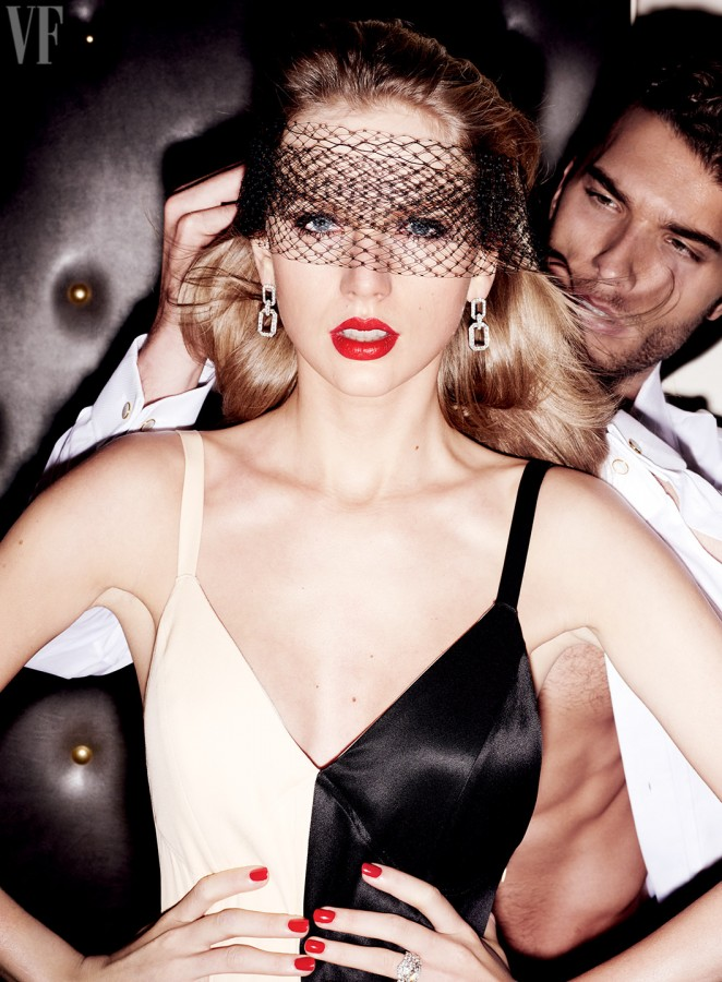 Taylor Swift se pone Hot para Vanity Fair