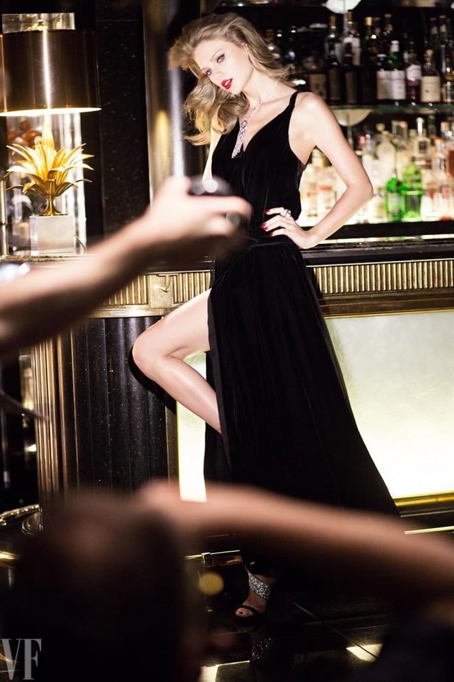 Taylor Swift se pone Hot para Vanity Fair