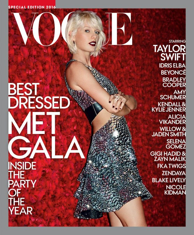 Taylor Swift - Vogue MET Gala Special Edition 2016