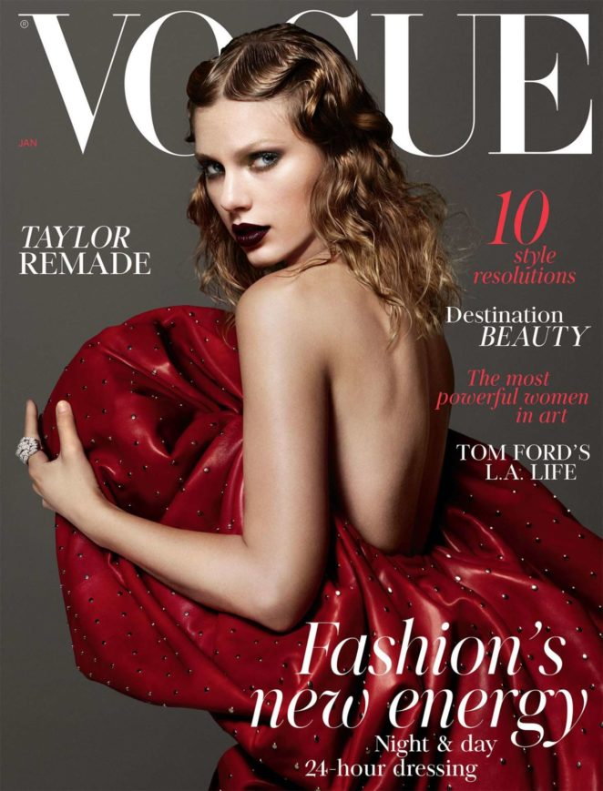 Taylor Swift - Vogue UK Cover (January 2018)