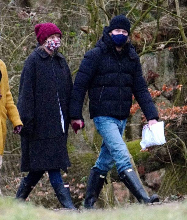 Taylor Swift - With boyfriend Joe Alwyn in London