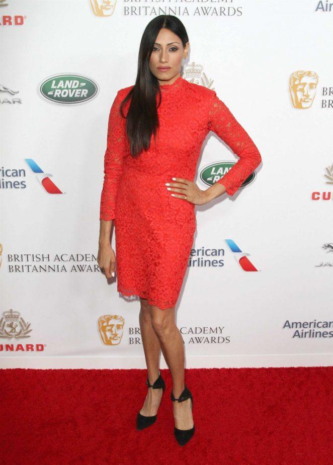Tehmina Sunny – British Academy Britannia Awards 2018 in LA