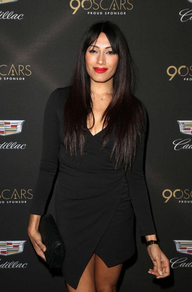 Tehmina Sunny – Cadillac Oscar Celebration 2018 in Los Angeles