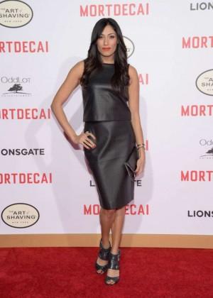 """Tehmina Sunny - """"Mortdecai"""" Premiere in LA"""