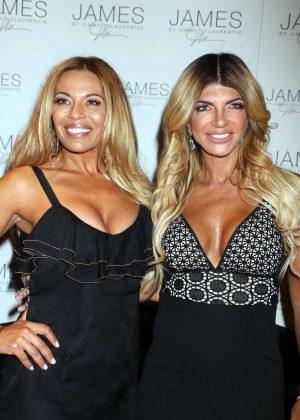 Teresa Giudice and Dolores Catania - Host at Las Vegas World Market