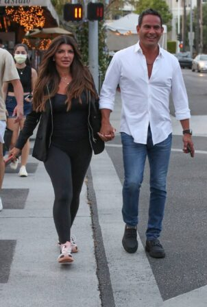 Teresa Giudice - Seen at Il Pastaio in Beverly Hills