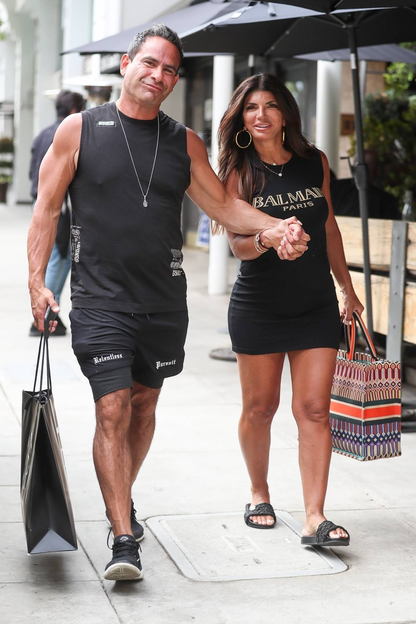 Teresa Giudice - Shopping candids in Beverly Hills