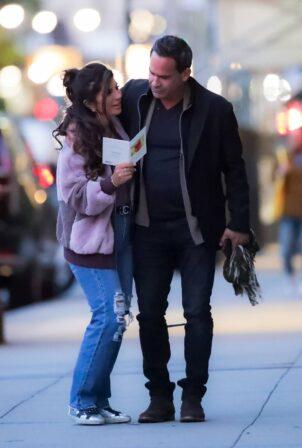Teresa Giudice - With boyfriend Luis Ruelas on a date in New York