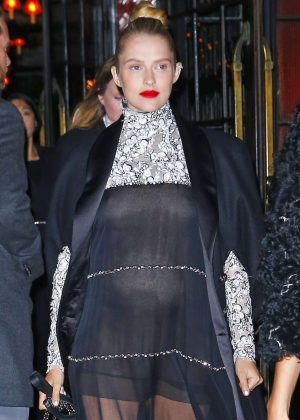 Teresa Palmer - Arrives at Chanel Metiers D'Art Event in New York City