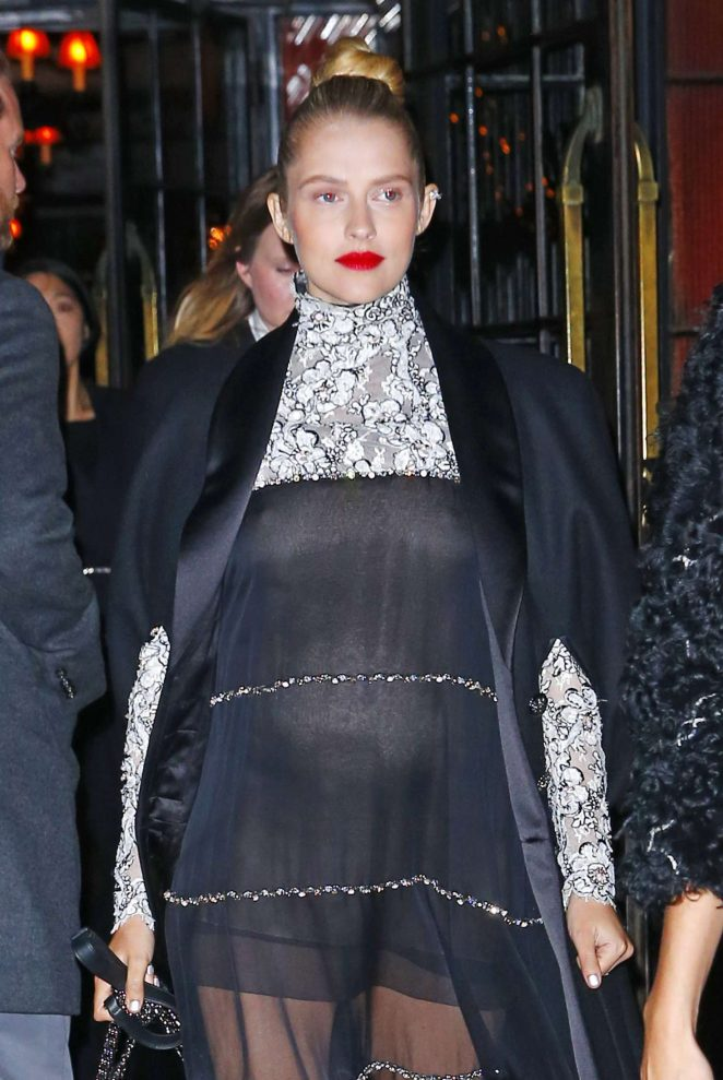 Teresa Palmer – Arrives at Chanel Metiers D'Art Event in New York City