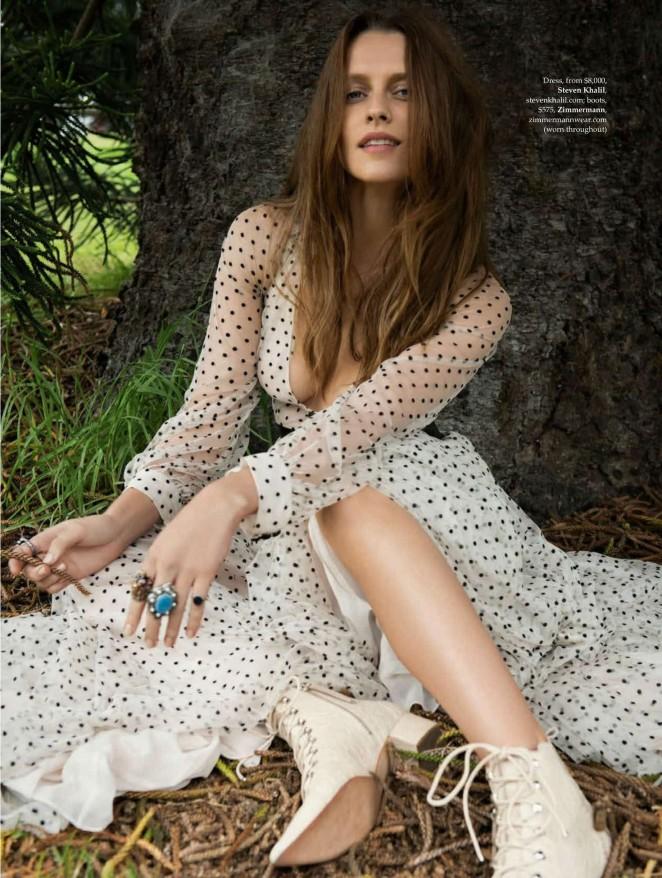 Teresa Palmer - Elle Australia Magazine (February 2016)