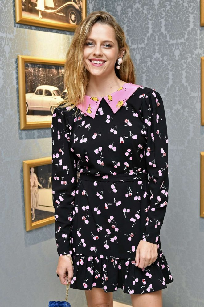 Teresa Palmer - Miu Miu Dinner at Haute Couture Fashion Week in Paris