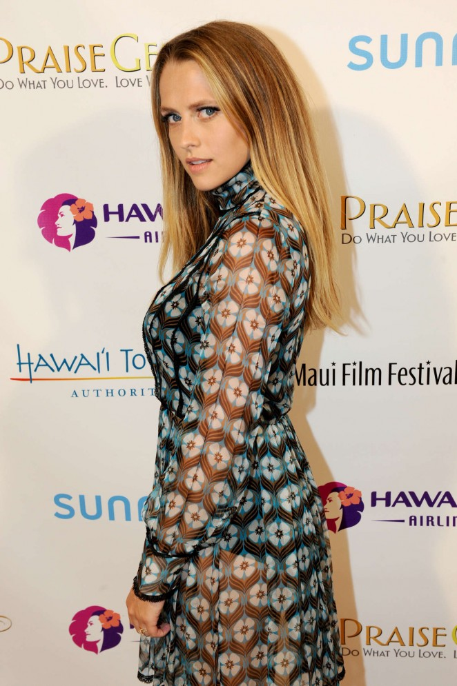 Teresa Palmer - Taste of Summer Opening Night Party at 2015 Maui Film Festival in Wailea