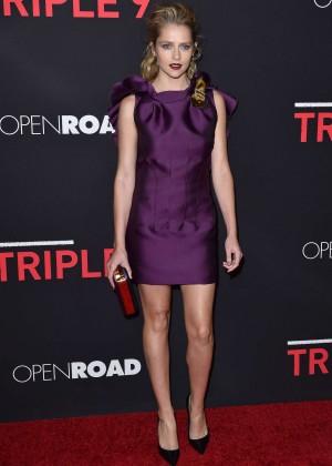 Teresa Palmer - 'Triple 9' Premiere in Los Angeles