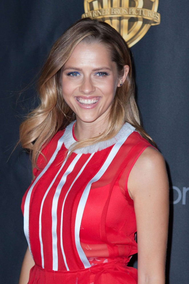 Teresa Palmer - WB 2015 Cinemacon Press Line in Las Vegas