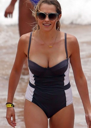 Teresa Palmer in Swimsuit in Maui