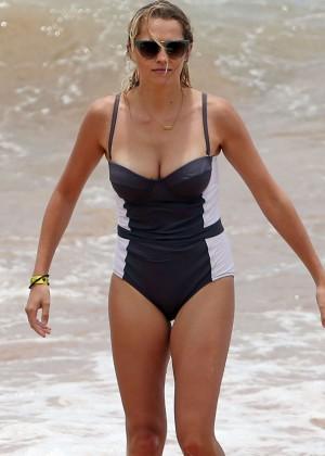 Teresa Palmer in Swimsuit -17
