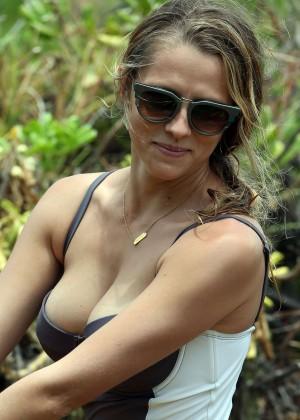 Teresa Palmer in Swimsuit -19