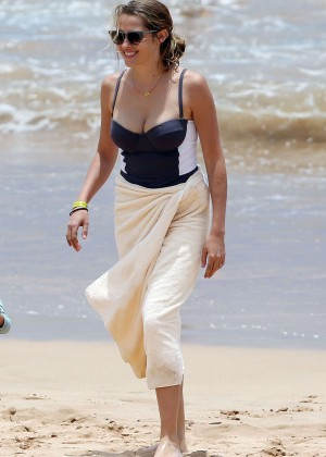 Teresa Palmer in Swimsuit -27
