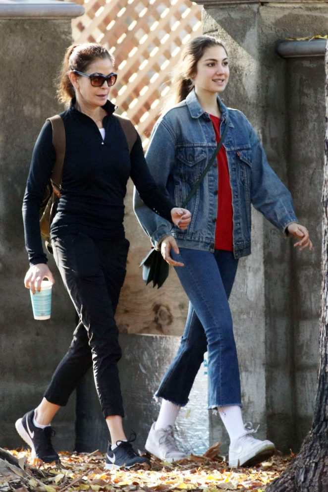 Teri Hatcher and daughter Emerson out in Los Angeles