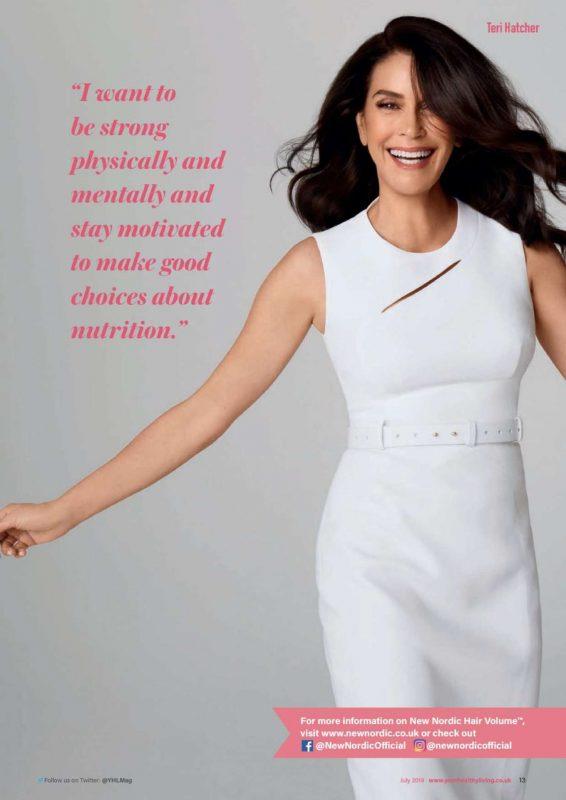 Teri Hatcher - Your Healthy Living Magazine (July 2019)